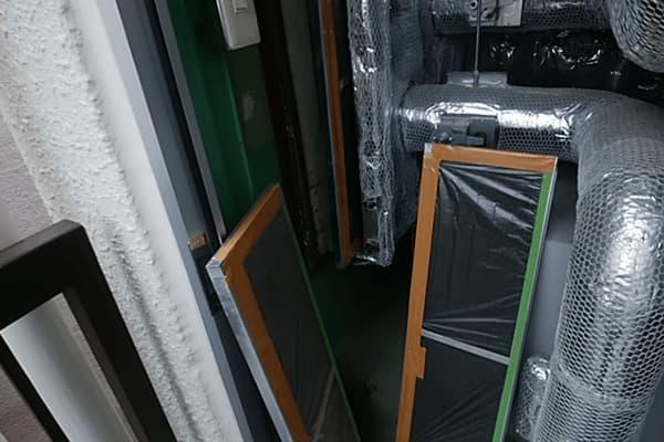 某精密機械メーカー様湿度制御