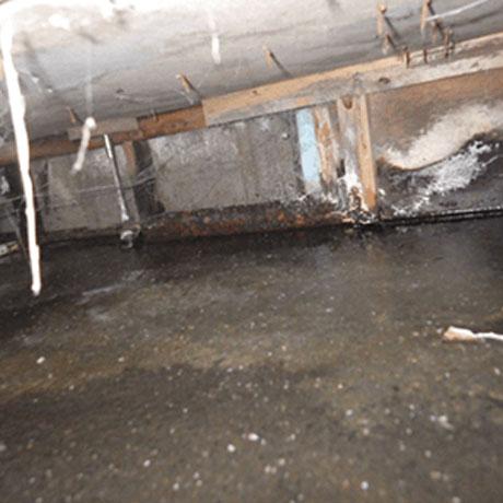 建物内部の漏水